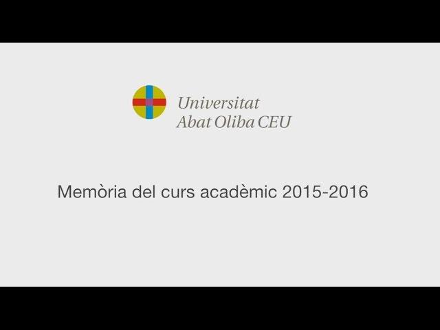 Memoria Anual Curso 2015 2016