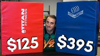 $125 TITAN SILENCER PADS vs. $395 POUND PADS