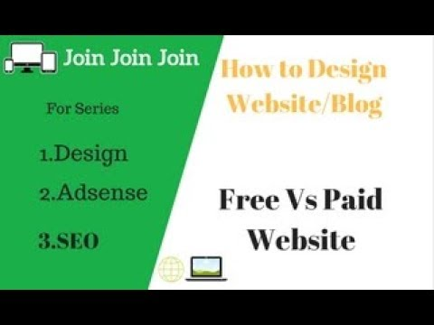 Free website Vs Paid Website Difference ||How to  make website And Earn money|