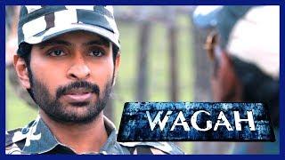 Vikram Prabhu meets Karunas | Wagah Movie Scenes | Ranya Rao mistakes Vikram Prabhu as terrorist