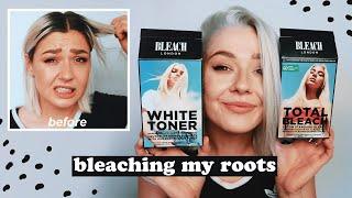Bleaching My Roots With Bleach London | CLASSYBURD