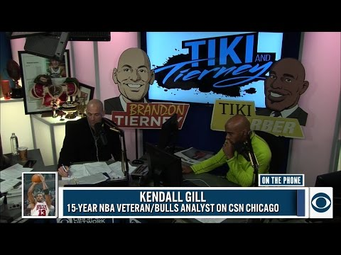 Kendall Gill joined Tiki and Tierney