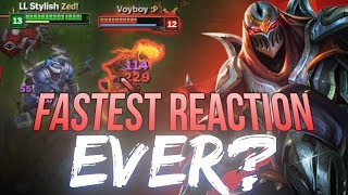 LL Stylish - FASTEST REACTION EVER?