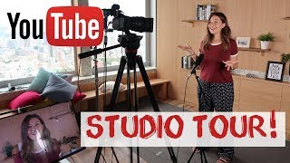 Youtube Studios Tokyo Tour - Behind The Scenes of Digital Nomad Series