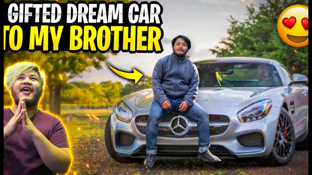 I Gifted My Brother His Dream Car😯Did He Cry😭😭😭Garena Freefire