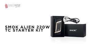 SMOK Alien 220W Kit. Best Vape Ever? - Direct Vapor Insider