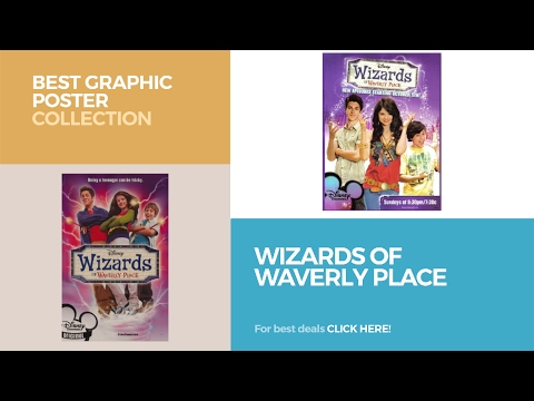 Wizards Of Waverly Place // Best Graphic Poster Collection