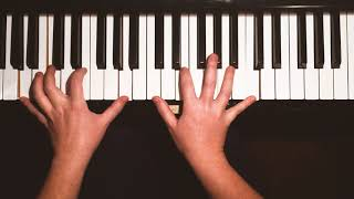 Nothing Else Matters - Metallica, solo piano cover YouTube Thumbnail