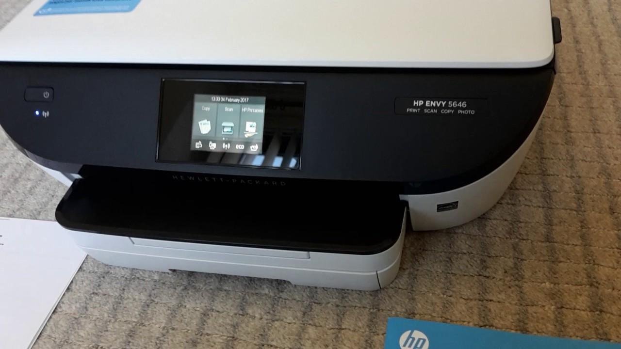 HP Envy 5646 Printer 04.02.17