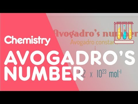Avogadro's number - The Mole | Chemistry for All | The Fuse School