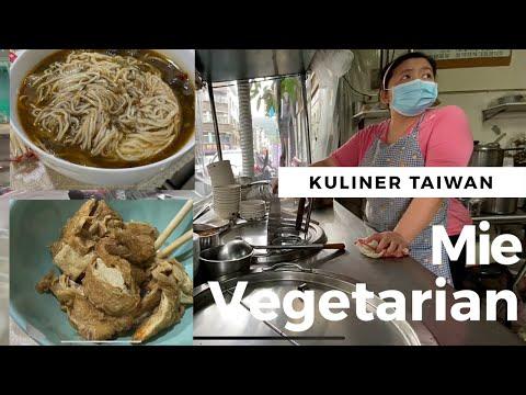 VEGETARIAN NOODLE IN DAZHI TAIPEI | MUSLIM FRIENDLY FOOD IN TAIWAN 健康素食麵