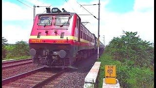 LGD WAP-4 with Patna - Secunderabad SF Express shows aggression
