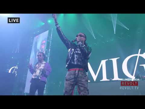 Migos Live Rolling Loud SoCal 2017 Full Set