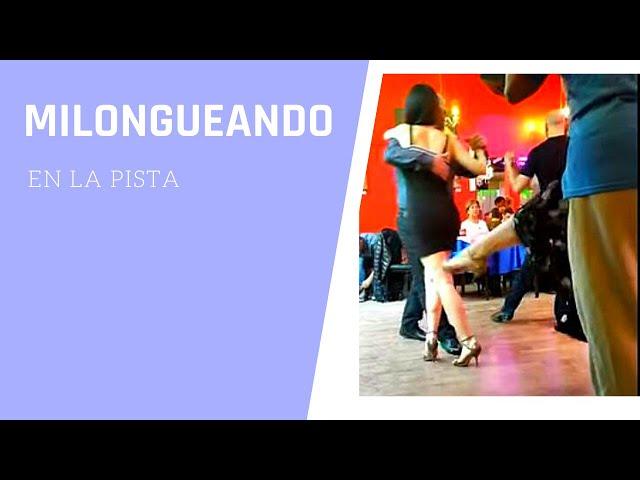 Esto es milonguear, baile de #tango en la pista de la #milonga El Beso tango Buenos Aires  2019