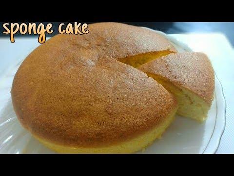 Sponge Cake Recipe | Basic Plain & Soft Sponge Cake | 🇳🇪  Republic Day Special 🇳🇪