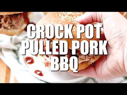How to make: CROCK POT PULLED PORK BBQ