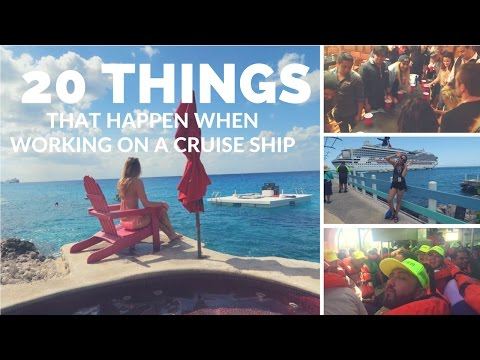 20 Things That Happen When Working On A Cruise Ship