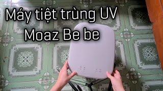 Cách sử dụng máy tiệt trùng - sấy khô tia UV Moaz Bébé