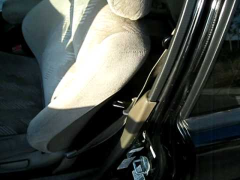acura integra seat belt retract before and after youtube rh youtube com 2005 Acura Vigor 2005 Acura Vigor