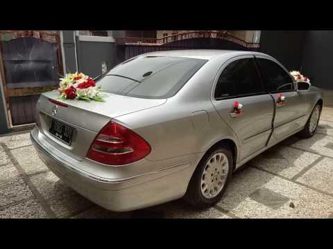 Sewa Rental Mobil Pengantin Wedding Car Depok Jakarta Mercedes e260 w211