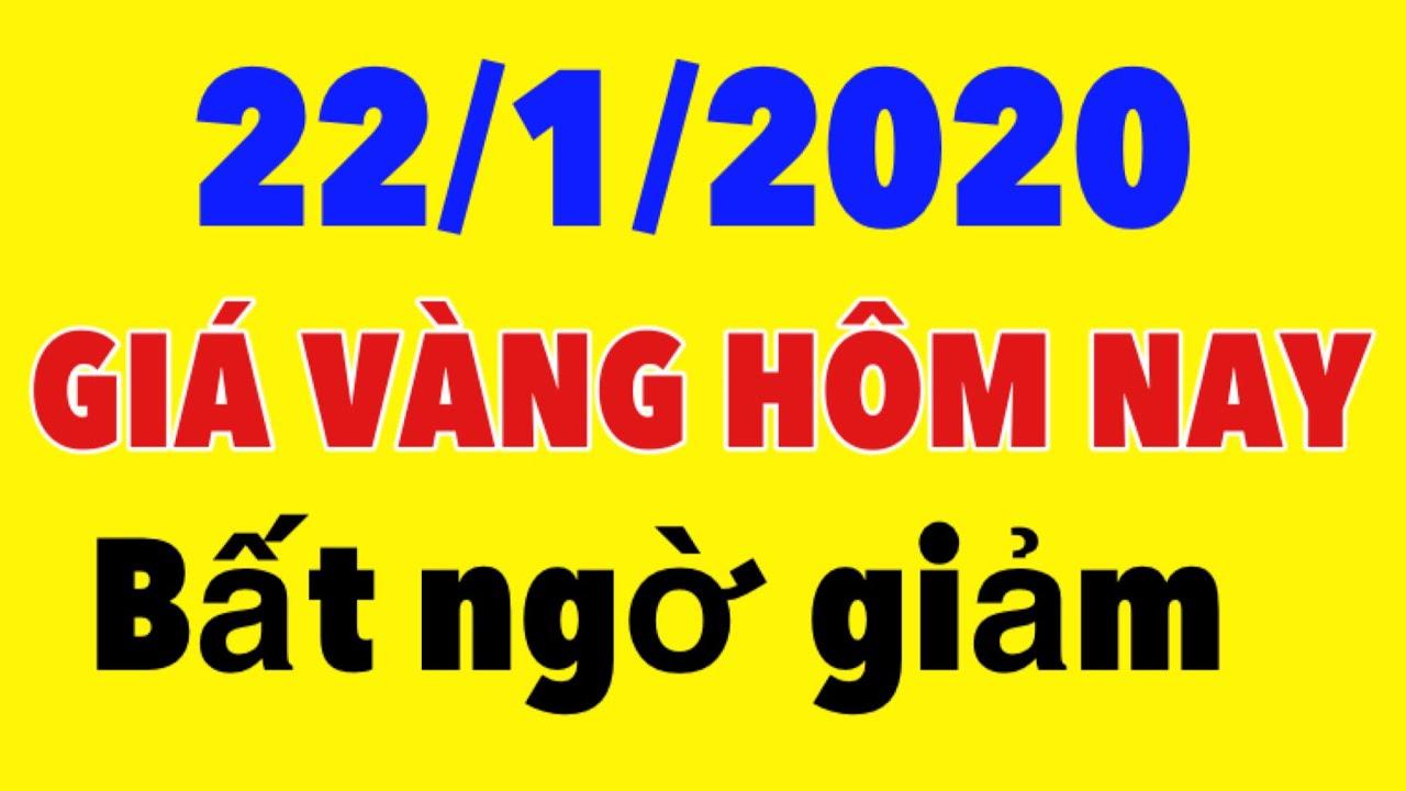 Giá vàng hôm nay ngày 22 tháng 1 năm 2020- giá vàng 9999 hôm nay