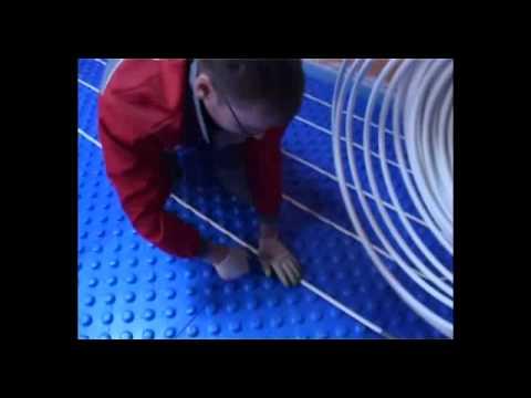видео: Теплый пол valtec - как укладывать теплый водяной пол