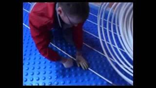 Теплый пол valtec - как укладывать теплый водяной пол(, 2011-06-24T21:07:03.000Z)