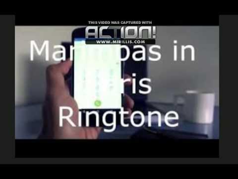 MARIMBAS IN PARIS RINGTONE FOR IPHONE .M4R  [2015] (FREE)