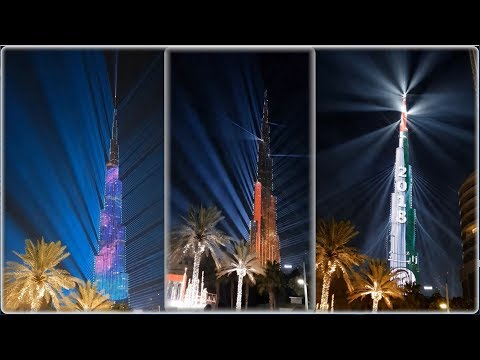 Dubai, Abu Dhabi and New Year 2018