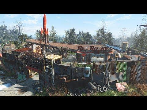 Fallout 4 - Red Rocket Settlement Build thumbnail