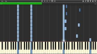 Doctor Who - Doomsday Intermediate Piano Solo [Synthesia] - Sheet Music in Description
