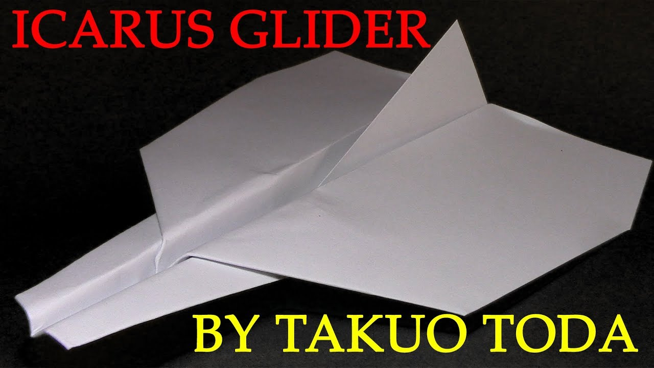 How to make the best paper glider in world