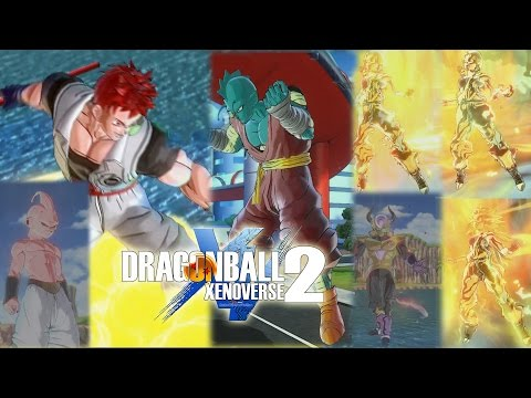 Dragon Ball Xenoverse 2 All Race Transformations Gameplay (Flying Nimbus, Purification, SSJ3, etc)