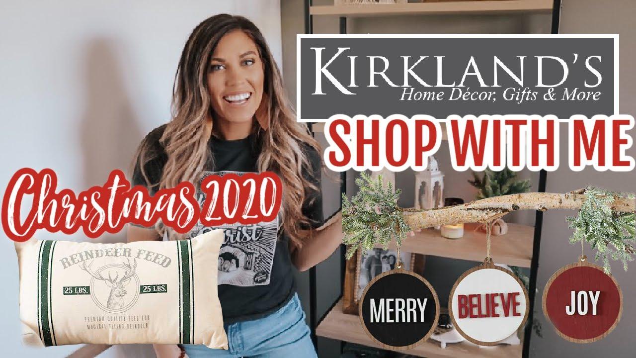 Kirklands Christmas 2020 KIRKLANDS CHRISTMAS SHOP WITH ME 2020 | FARMHOUSE CHRISTMAS DECOR