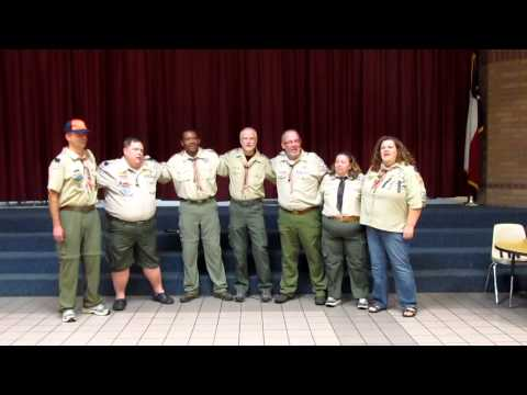 Back to Gilwell sung by SHAC 12-1'ers