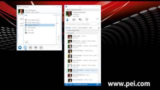 Microsoft Lync 2013 - How to Upgrade a Conversation from IM to Voice to Video
