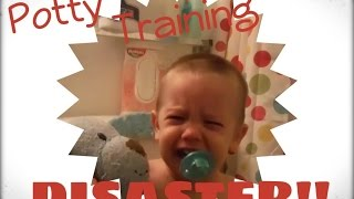 POTTY TRAINING DISASTER!! 1-1-15 Daily Vlog {Day 172}