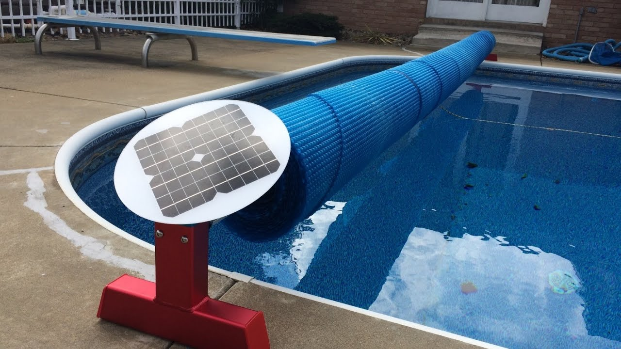 Solarplane Pool Ebay Solar Battery Electric Motor Powered Solar Blanket Reel Automatic Pool Cover Reel Roller