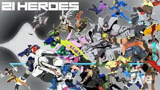 Overwatch Nightcore Rap 21 Heroes - Nightcore & 21 Heroes   RaveDJ