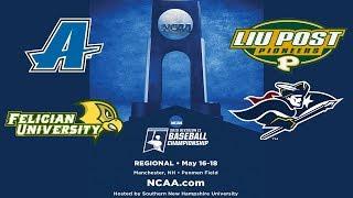 LIU Post v. SNHU - NCAA East Regional Baseball Championship