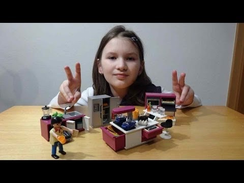 Playmobil 5582 Stylova Kuchyne Vybaleni Unboxing Od Playmobil Wonderland Unboxing Youtube