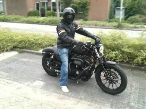 My Harley Davidson 883 Iron - YouTube