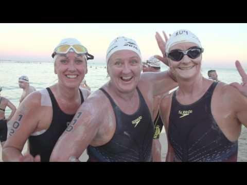 2016 Karma Resorts Rottnest Channel Swim Highlights Video