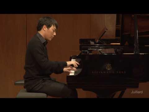Changyong Shin, piano   Juilliard Robert Levin Piano Master Class