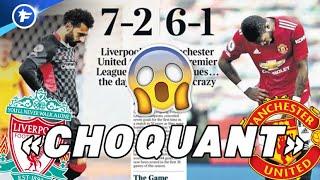 L'Angleterre sous le choc après les terribles humiliations de Liverpool et MU | Revue de presse