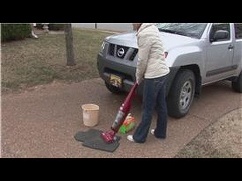 Housekeeping Tips : How to Clean Auto Carpet Floor Mats