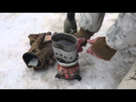 Field Life during Cold Weather training for Marines!