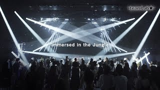 Immersed in the Jungle - teamLab Jungle Art Night