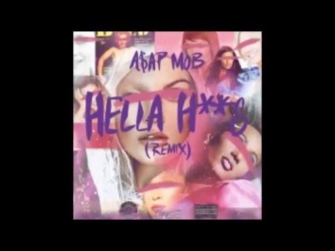 A$AP Mob - Hella Hoes (Remix) ft. Aston Matthews & Danny Brown