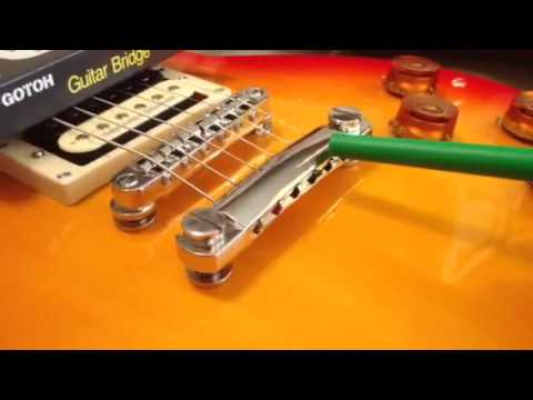 why top wrap strings on les paul and sg tailpieces youtube. Black Bedroom Furniture Sets. Home Design Ideas